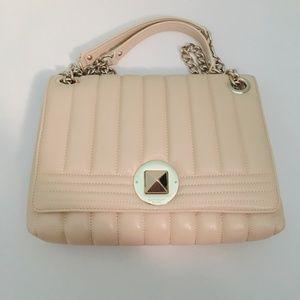 Cream Leather Handbag by Kate Spade